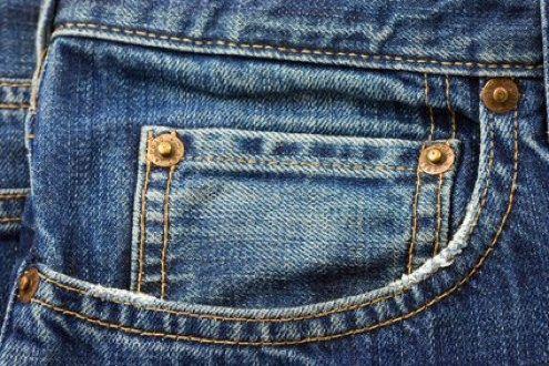 Denim de aislamiento - Jeans