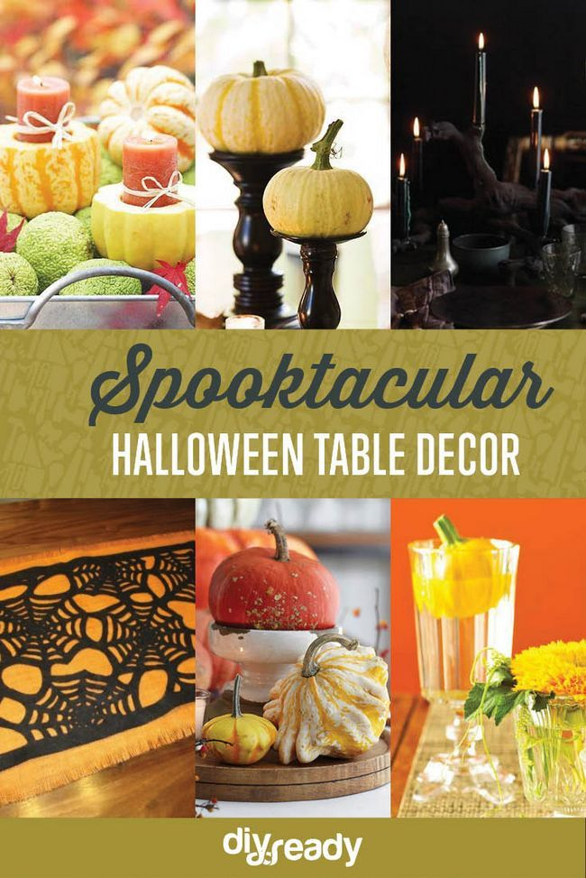 Fotografía - Tabla de Halloween Decoración | Ideas de bricolaje Spooktacular
