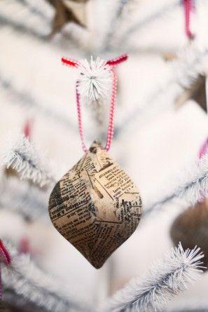 Periódico Adornos de Navidad Tuck y Bonte
