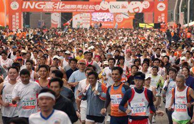 Fotografía - ¿Cómo funciona un maratón
