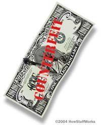 Fotografía - Un amigo mío dice que ella puede decir billetes falsos por la forma en que se sienten. es posible?