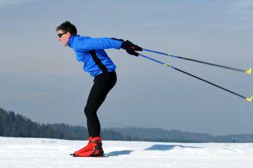 Fotografía - Cómo funciona el esquí de fondo
