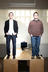 Biz Stone y Evan Williams