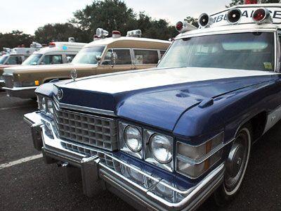 Ambulancias Cadillac de los años 1970 y 1960
