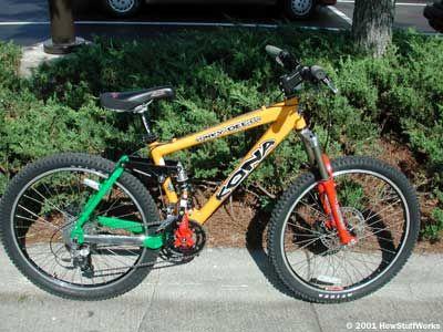 Fotografía - ¿Cómo funcionan las bicicletas de montaña