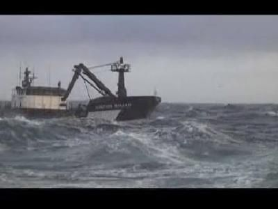 Deadliest Catch: La física de las ondas