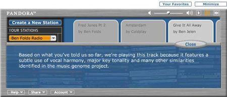 Cómo Radio Pandora Obras