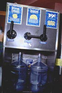 ósmosis inversa máquina expendedora de agua