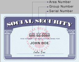 ¿Los dígitos de mi número de la seguridad social representan nada en particular?