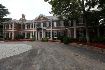 El exterior del Gobernador's Mansion in Nashville, Tenn. The mansion recently underwent a six-year, $18 million restoration.