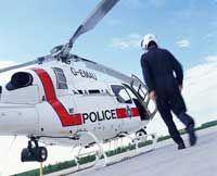 helicóptero de la policía estatal