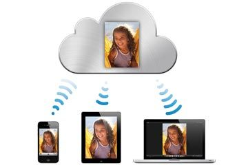 Si subes una foto a su almacenamiento en línea iCloud, que'll be able to access the file from any of your Internet-connected Apple devices.