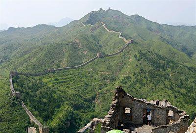 Fotografía - ¿Cómo la Gran Muralla de China funciona