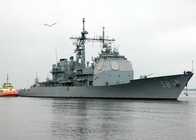 Crucero de misiles