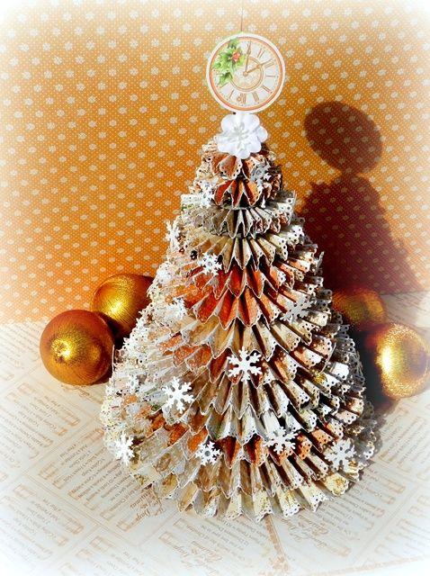 Cómo Un árbol de Navidad Rosette