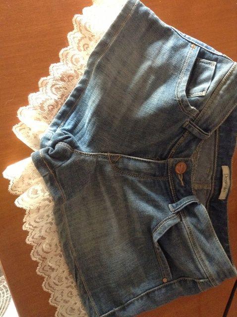 Cómo agregar Encaje de sus pantalones cortos
