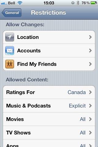 Ubicación: servicios de GPS usados por Aplicaciones Cuentas: Cambiar / Adición de e-mail Encuentra My Friends: más en esta próxima