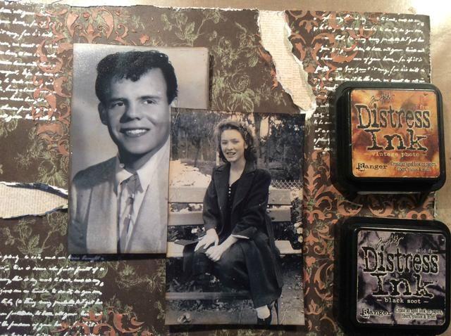 Tomar la foto del vintage DI ligera se aplica a los bordes de mis fotos y luego el borde la foto con Negro hollín Di añadir que la apelación de la vendimia. Cumpla sus fotos a los diseños.