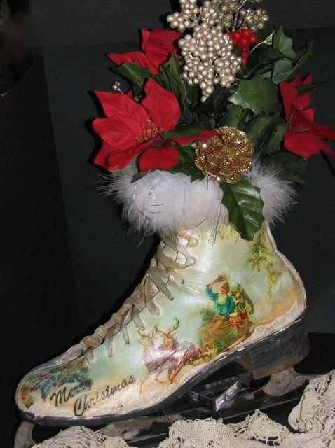 Cómo modificar una Navidad & Winter temáticas Patín sobre hielo