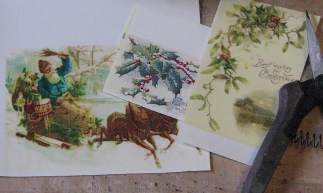 Imprimir imágenes que desee en la actitud de Artesanía de Cine. Imágenes de Páginas Altered - Ivy- victoriana de Navidad y de marfil ángeles. NOTA: El texto debe ser impreso en el reverso para que sea legible por una vez aplicado.
