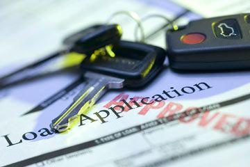solicitar un préstamo de coche