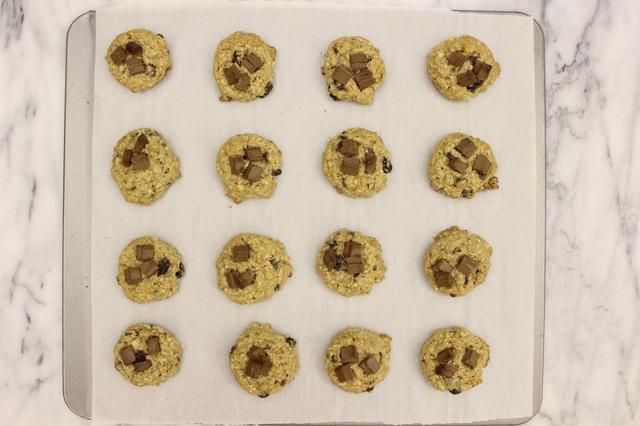 Hornee como lo hizo para el resto de las cookies. Mismo tiempo.