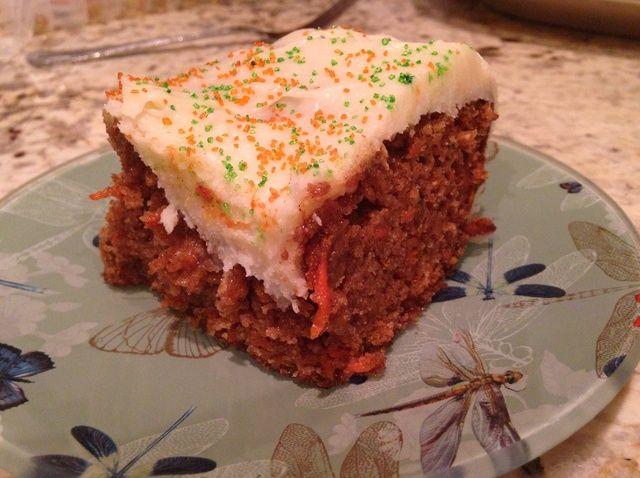 Cómo cocer al horno una receta de pastel de zanahoria