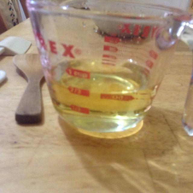 Medida de aceite vegetal 2/3
