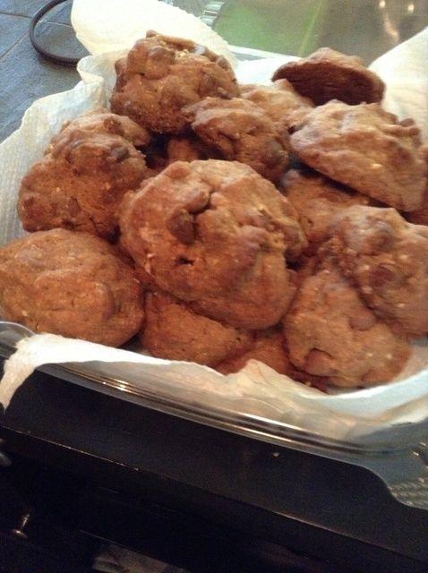 Cómo cocer al horno ChocChips Cookies, W / coco almendra sabor. Receta