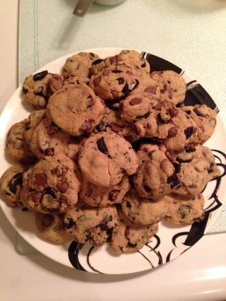 usted'll have a little less than 2 dozen cookies! Enjoy!!