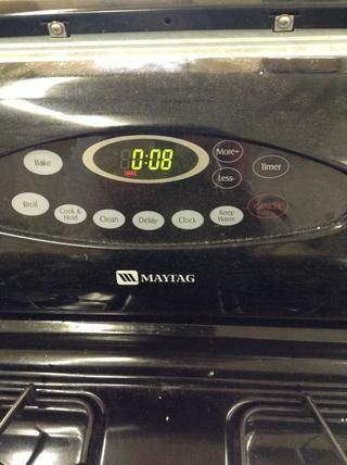 Ajuste el temporizador durante 8-10 minutos.