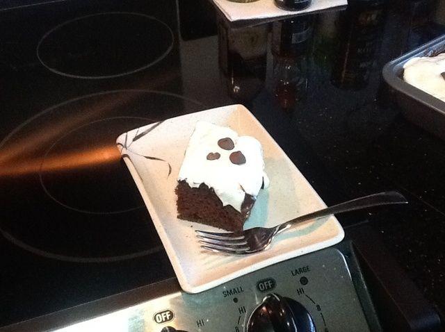 Cómo cocer al horno Pudín de chocolate del empuje Receta de la torta