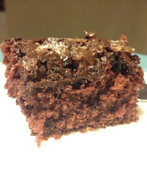 Cómo cocer al horno chocolate Snack-Receta de la torta