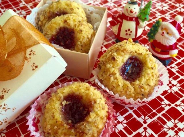 Cómo cocer al horno de Navidad Huella Receta de las galletas