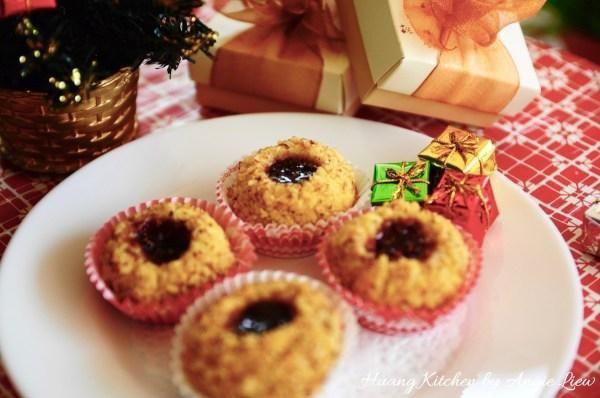 Disfruta de estas mantecosos suaves galletas todavía crujientes con una taza de café recién hecho o té. Ciertamente hará una adición colorida y deliciosa a cualquier bandeja de galletas.