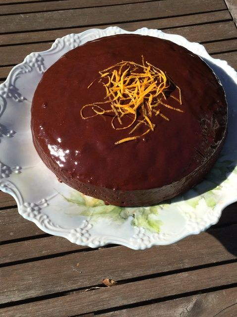 Cómo cocer al horno Receta de la torta de la clementina y almendra Jarabe