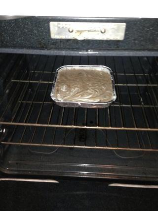 Coloque en el horno precalentado ahora.