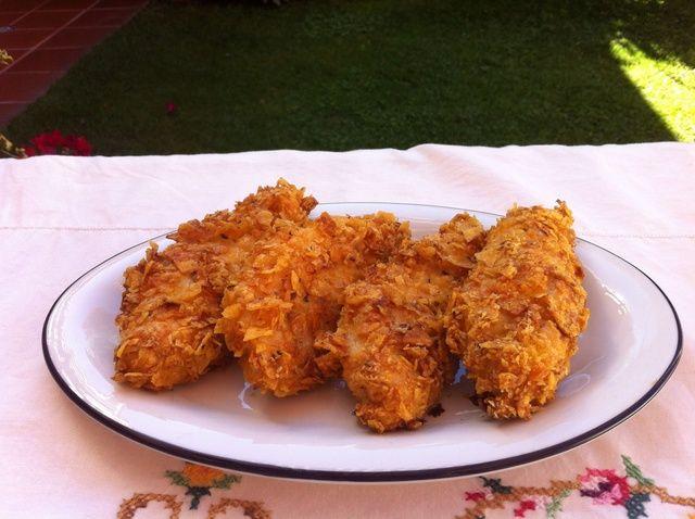 Cómo cocer al horno de pollo crujiente con Doritos Receta