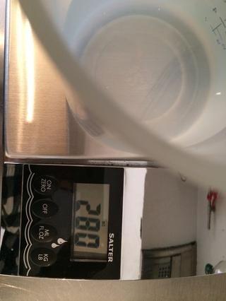 Agua tibia 280 ml tibia