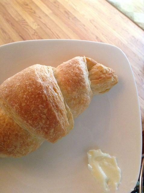 Cómo cocer al horno frescos croissants De Receta de Scratch