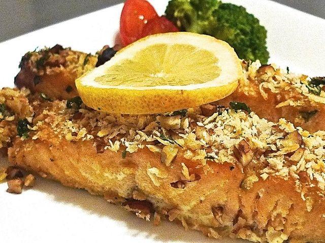 Cómo cocer al horno miel Dijon acristalamiento salmón Receta