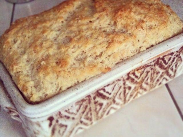 Cómo cocer al horno miel Avena Pan Con Chia Seeds Receta