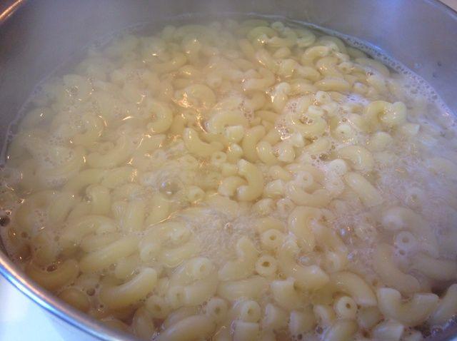 Cómo cocer al horno Macarrones con queso Receta