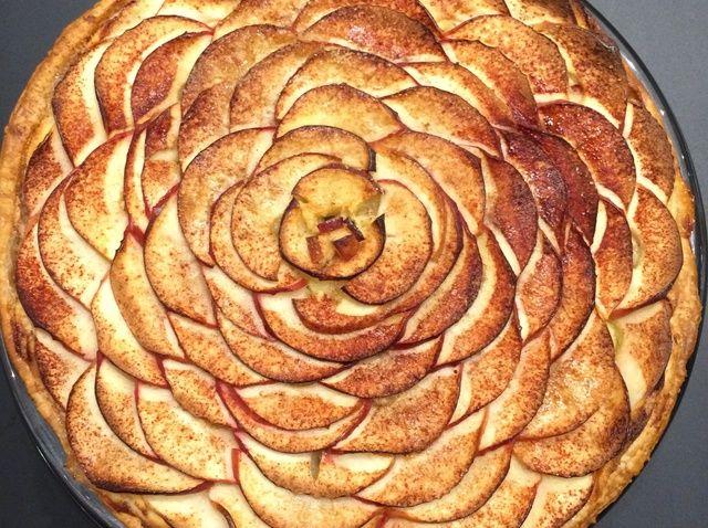 Cómo cocer al horno parisina Receta Tarta de Manzana
