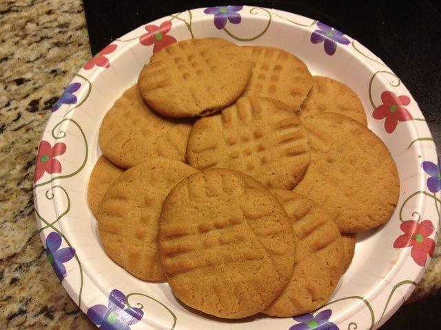 Cómo cocer al horno Receta de las galletas de mantequilla de maní