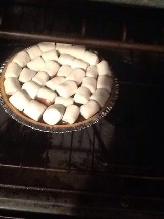 Coloque el pastel en el horno durante apx. 27-29 minutos