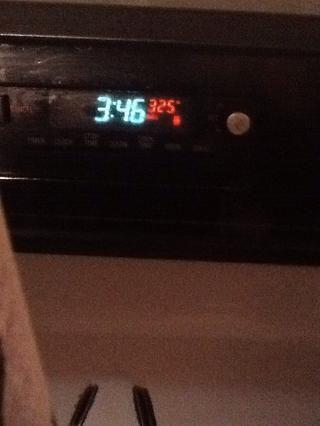 Precaliente el horno a 325 °