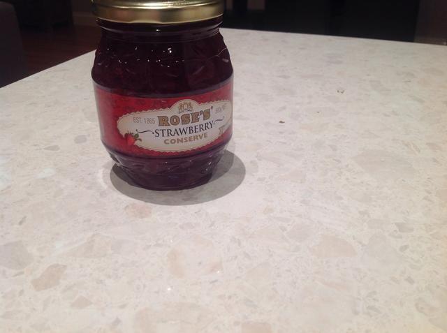1 frasco de mermelada de fresa