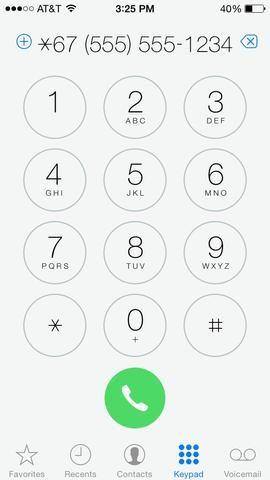 Ahora marque el número al que desea llamar (Tap foto)
