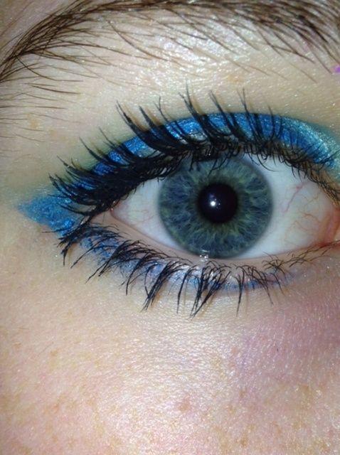 Cómo Hada Azul / sprite de maquillaje